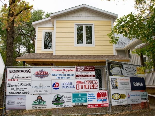 EnerGuard Windows is proud to be supporting the Habitat for Humanity Moose Jaw Build